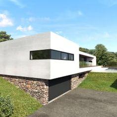 Maison contemporaine Aix-en-Provence 3: Maisons de style de style Moderne par ARRIVETZ & BELLE
