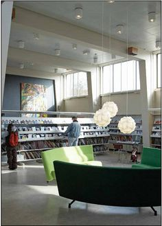 Seating area -- BCI innovative library design