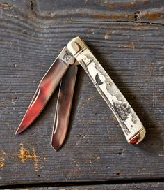 I like the one with the whale on it but this one is more of a man's knife.