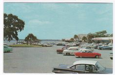 1960s Shopping Malls | 1950s 1960s Cars Autos Shopping Center St by ThePostcardDepot