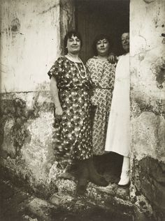 """RECONNECT WITH FRIENDS. """"Rue Asselin"""" by Eugene Atget, Paris, ca. 1924. J. Paul Getty Museum."""