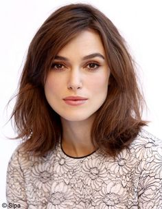 Keira Knightley - Le carré « grunge »