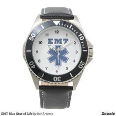 EMT Blue Star of Life always time