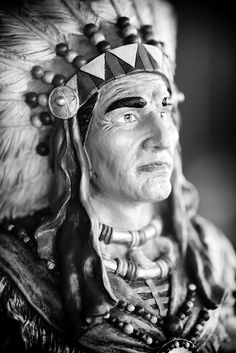 Cigar Store Indian, Plate 3, via Flickr.