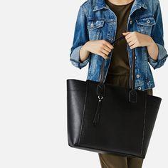 ZIP-UP TOTE-Large handbags-BAGS-WOMAN | ZARA Italy