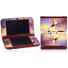 Skin New 3DS XL/ LL - Papillon New 3ds, Nintendo Consoles, Sticker, Games, Decals, Game, Decal, Stickers, Playing Games
