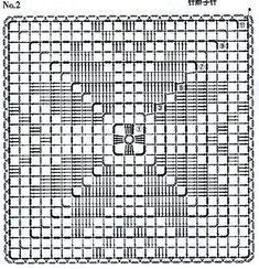 Crochet Flower Squares, Crochet Square Patterns, Crochet Blanket Patterns, Crochet Pillow Cases, Bargello Needlepoint, Diy Crafts Crochet, Pillowcase Pattern, Crochet Tablecloth, Filet Crochet