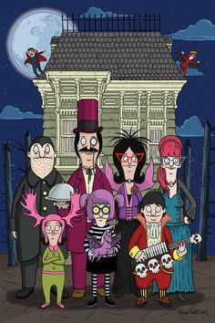 Bob's Burgers Issue - Read Bob's Burgers Issue comic online in high quality Bob's Burgers Halloween, Halloween Eve, Halloween Stuff, Bobs Burgers Wallpaper, Bobs Burgers Memes, Tina Belcher, Pokemon, Bob S, Animation