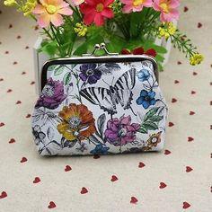 Womens Girl Wallet Holder Key Case Bag Pouch Coin Purse Clutch Handbag 2016