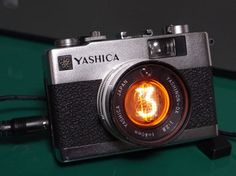1桁ニキシー管時計自作  YASHICA ELECTRO 35 MC 1digit nixie tube clock