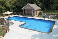 Swimming Pools Backyard, Pool Decks, Pool Landscaping, Indoor Pools, Vinyl Pools Inground, Diving Pool, Pool Builders, Custom Pools, Cool Pools