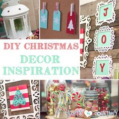 Christmas Ideas: DIY Christmas Home Decor Inspiration – My Home