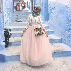 Hijab Fashion | Nuriyah O. Martinez | @hafsael_ - Everything is cute #HijabTreasure