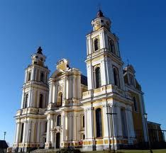 The famous Catholic Churches on Belarus Roman Catholic, Catholic Churches, Famous Catholics, Republic Of Belarus, My Father's House, Christian Church, Historical Architecture, Place Of Worship, Kirchen