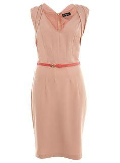 MISS SELFRIDGE Origami Fold Pencil Dress RRP: £42.00
