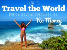 Want to travel the world but you've got no money? Here's the most comprehensive guide out there to traveling the world without spending a cent.