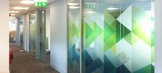 Vision has designed, produced and installed thousands of square metres of manifestations, prints & decoration for glass.