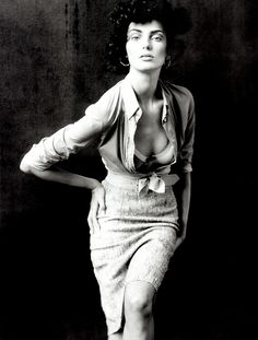 Daria Werbowy photographed by Paolo Roversi - Vogue Paris: June 2005 - Ava Gardner