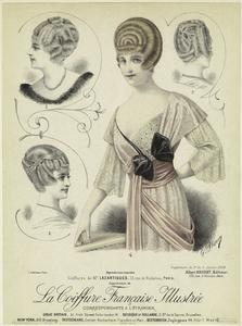 Coiffures de Mr. Lazartigues, 73, rue de Richelieu, Paris. (1914)