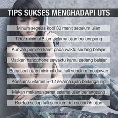 Buat siapa pun yang lagi berjuang buat UTS besok I hope you do well in your exams! May the odd be ever in your favor Study Motivation Quotes, Study Quotes, Study Methods, School Study Tips, Self Reminder, Healthy Skin Care, Good Habits, Beauty Recipe, Girls In Love