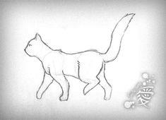 Cat walking cycle by Tanita-sama