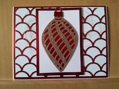 Tina's Stamping Blog Delicate Ornament Thinlits Dies from the Holiday 2015 Stampin' Up! catalog and Striped Scallops Thinlits - See more at: http://tinadavisstamps.blogspot.com/#sthash.oh0jVNBe.dpuf