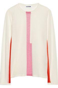 Jil Sander Fine-knit cashmere sweater | THE OUTNET