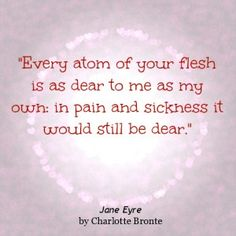 Jane Eyre, my favorite book. Ever.