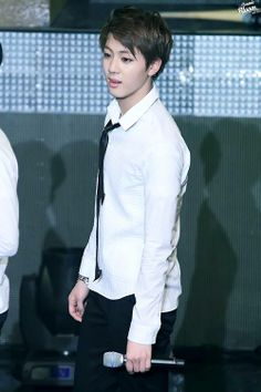 JIN  looks here a little bit like jungkook  or nah?#BTS