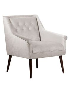 Button Tufted Chair by Skyline Furniture at Gilt