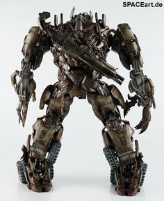 Transformers: Megatron, Voll bewegliche Deluxe-Figur ... http://spaceart.de/produkte/trf002.php