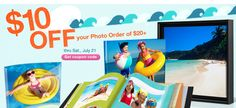 $10 OFF your Walgreens photo order of $20....something to do with our vacation photos!