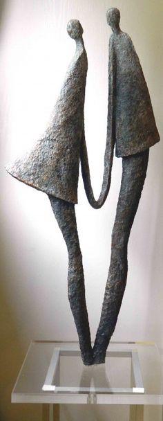 Mariage - Sculpture ©2013 by Mireille Lauf-Marquis -