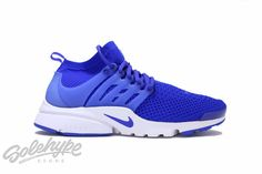 NIKE AIR PRESTO FLYKNIT ULTRA RACER BLUE WHITE TOTAL CRIMSON 835570 400