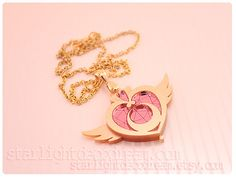 Sailor Moon Crisis Moon Compact Inspired Acrylic Necklace | Top 20 Must Have Sailor Moon Merchandise From Etsy