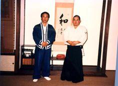 Kung-fu Master Adam Hsu with Rev. Kensho Furuya in the early 1990s.
