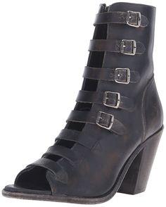 FRYE Women's Izzy Belted Short Military-Inspired Sandal -- Unbelievable  item right here! : Gladiator sandals
