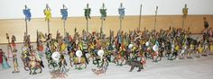 /gallery/Figures-Ray-Haradin/Lot_351.jpg Heyde groupings, a part Triumph of Germanicus procession, with chariots and standards sold for $1,200