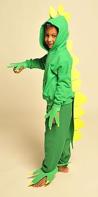 how to make a dinosaur suit