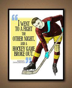 Sports Quote - Hockey