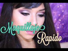 MAQUILLAJE FACIL PARA SALIR - YouTube