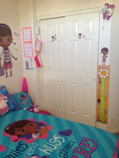 Doc Mcstuffins room | Doc Mcstuffins Bedroom | Pinterest | See ...