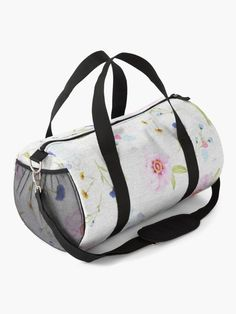 """""""Spring Flowers painting"""" Duffle Bag by artgame 