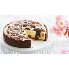 Mars bar cheesecake recipe - By Australian Women's Weekly, The only thing better than cheesecake is one packed full of Mars bar chocolate. A sweeth tooth's delight! #cheesecake