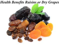 Ayurveda Health benefits of raisins