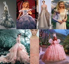 Glinda Inspired Fashion from Wicked the musical, Oz: The Great and Powerful the Movie and the Wizard of Oz