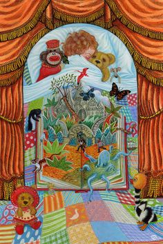 """The Enchanted Storybook  by Mathilda Harrison  (in """"StoryWorld by  John and Caitlin Matthews, Templar 2010)"""