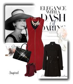 """""""Like"""" by nedim-2001 ❤ liked on Polyvore featuring Burberry, Luxo, L'Agence, MICHAEL Michael Kors and Rivka Friedman"""