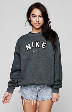Retro Gold Vintage Nike Crew Fleece at PacSun.com #Fashion #Clothing #Nike #Crew #Vintage #Fleece