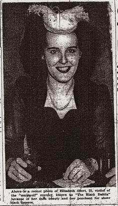 Elizabeth Short | Newspaper